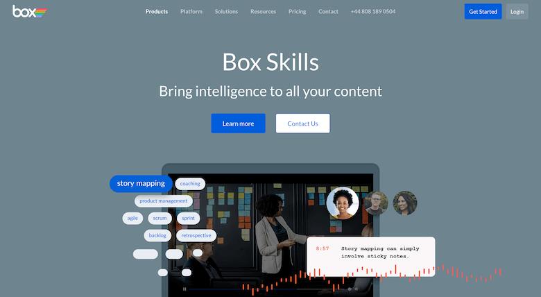 Box Skills / A.I.