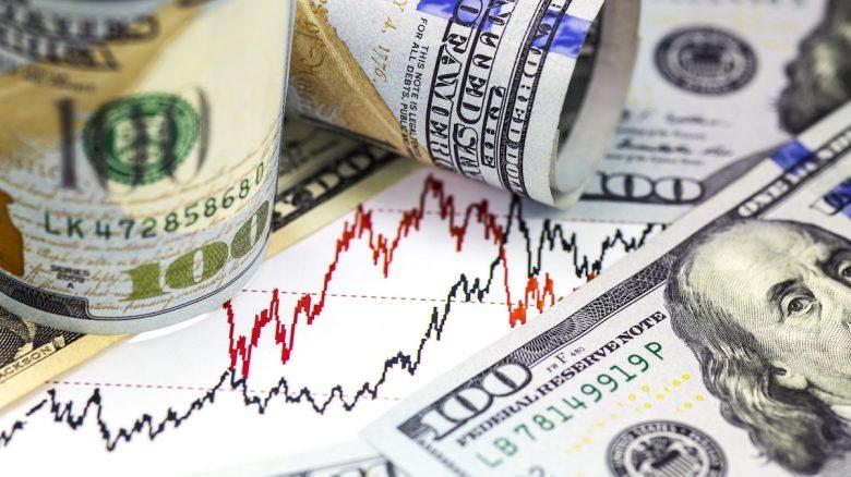 Cash / Stock Market Chart