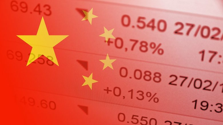 China Flag / Stock Quotes